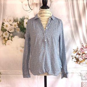 Ann Taylor Loft Floral Shirt